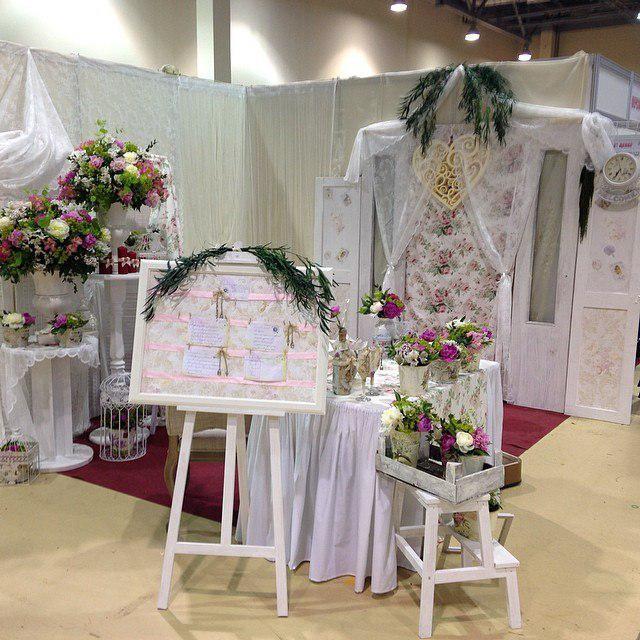 декорација венчања у стилу чеби шика