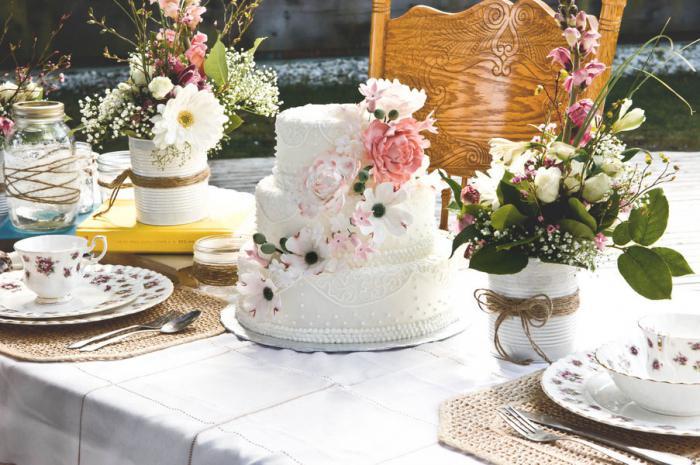 свадба у стилу цхебби цхиц дворске декорације