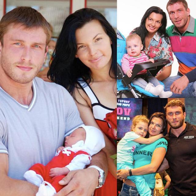 La moglie di Dmitry Klokov