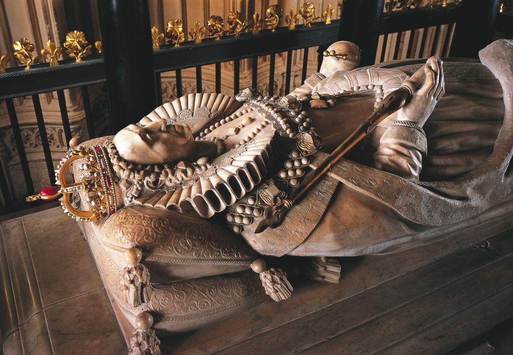 Гробница краљице Елизабете И у Вестминстерској опатији