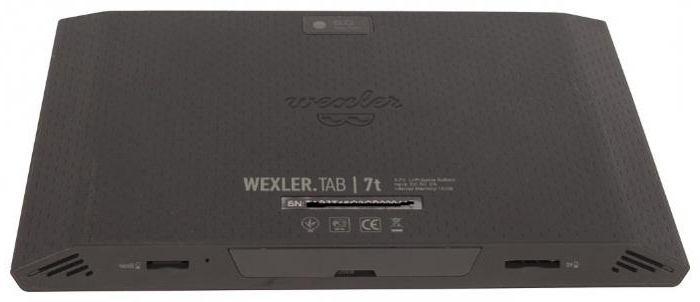 scheda wexler per tablet 7t