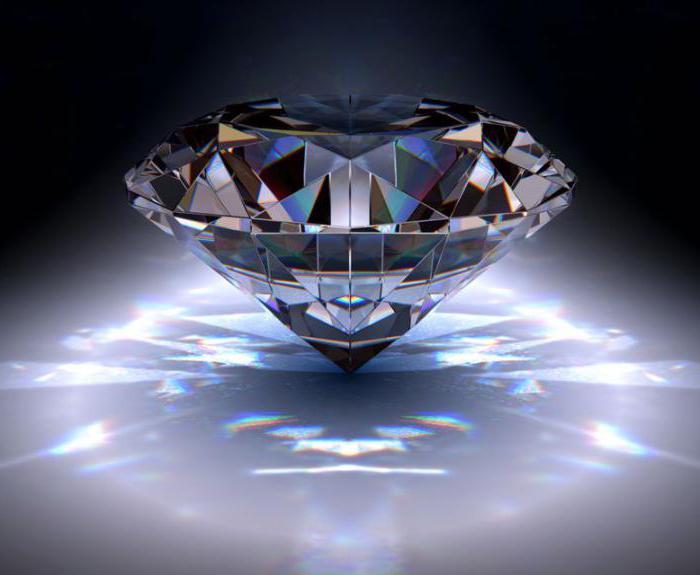 che aspetto ha un diamante?