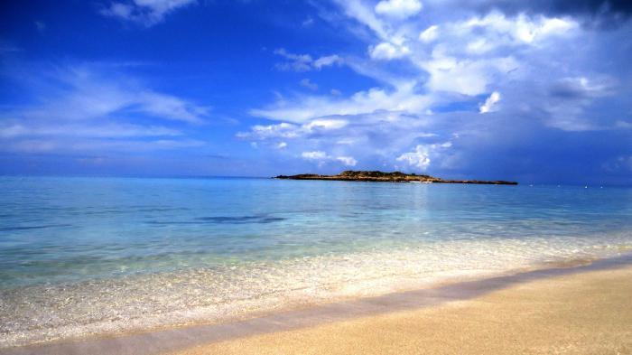mare che lava Cipro