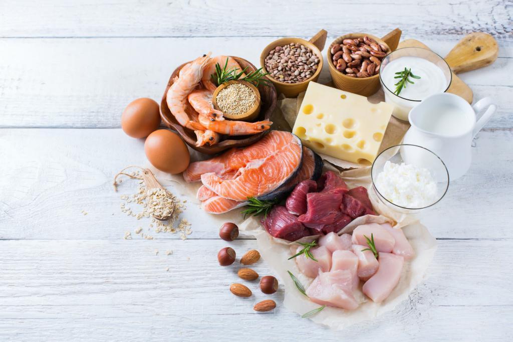 Aminoacidi nel cibo