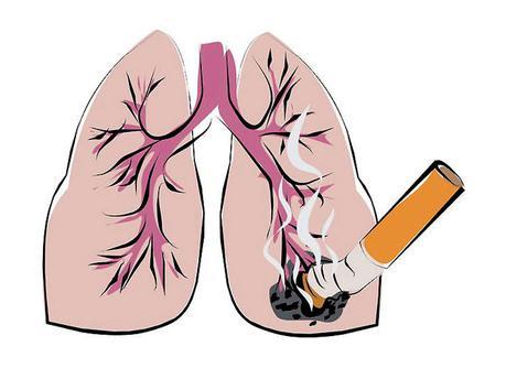 рак на белия дроб.  причините