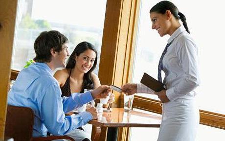 дужности ресторана