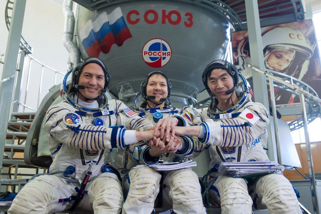 gruppo di cosmonauti
