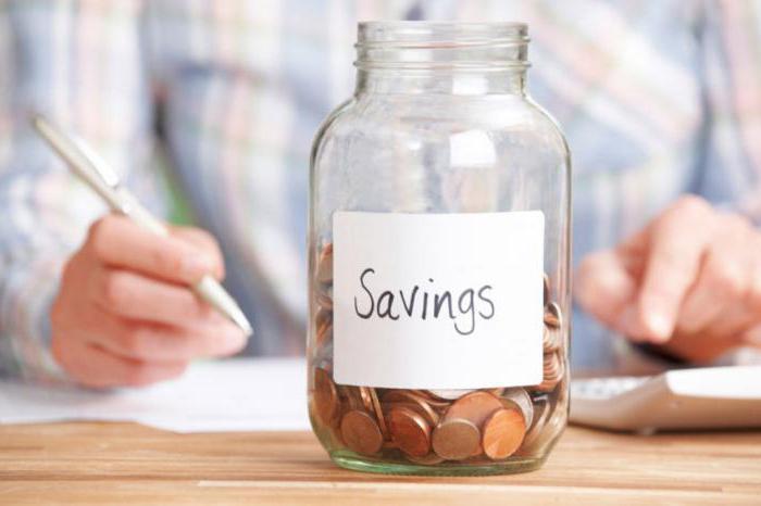 kakšni so viri prihrankov v gospodinjstvu
