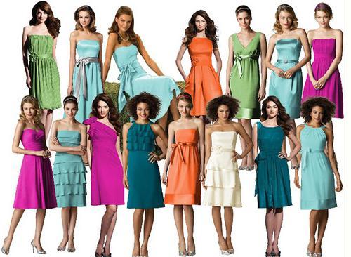 piękne style sukienek