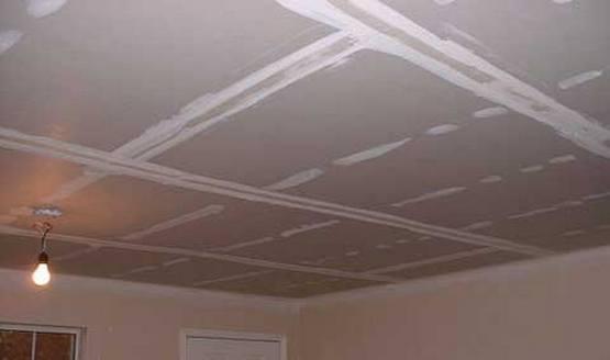 vrste stropov