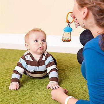 kaj lahko otroka v 6 mesecih