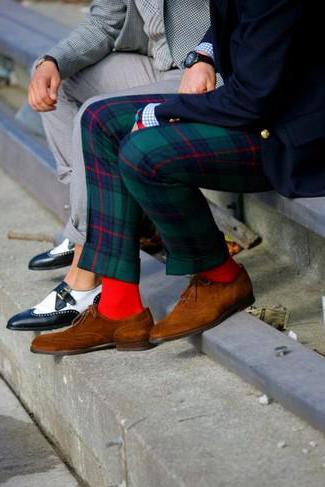 Buty Oxfords dla mężczyzn.