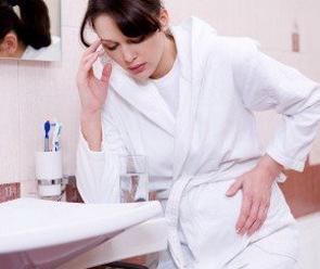 malato dopo aver mangiato durante la gravidanza