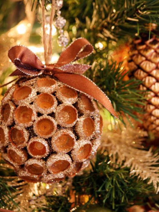 Come fare una decorazione sull'albero di Natale