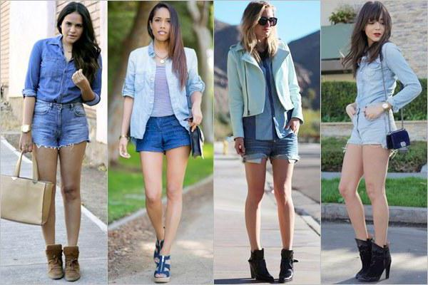 quali jeans indossare shorts in denim
