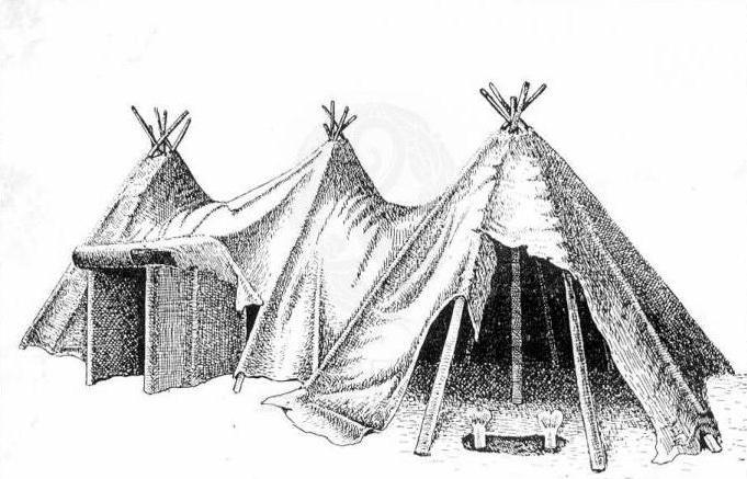 проект за дом на древни хора