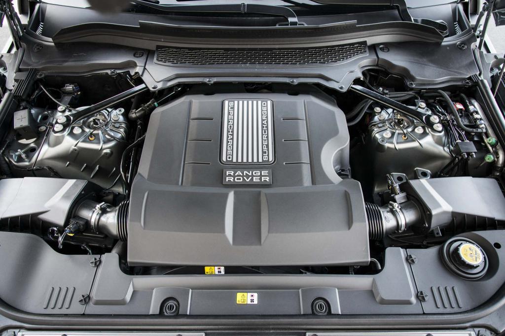 V8 se vznětovým motorem Range Rover