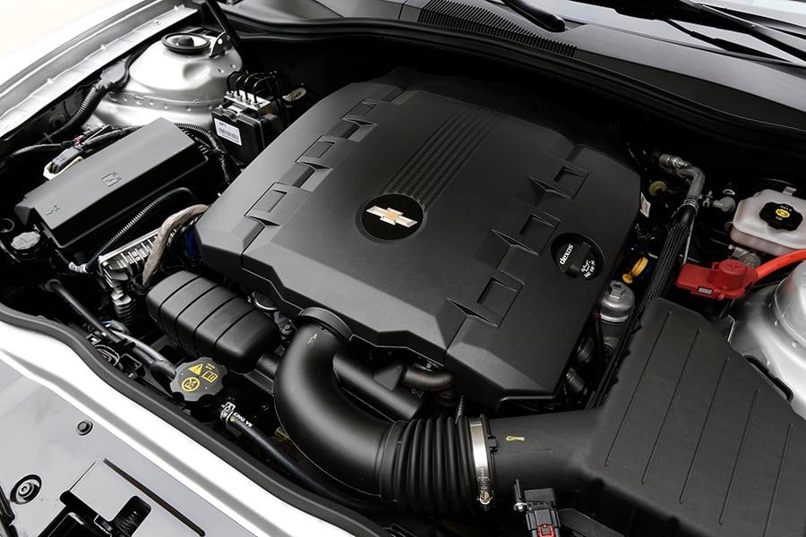 Motor na automobilu Chevrolet