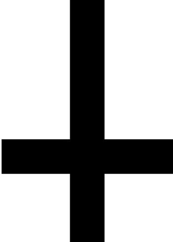obrnuti križ