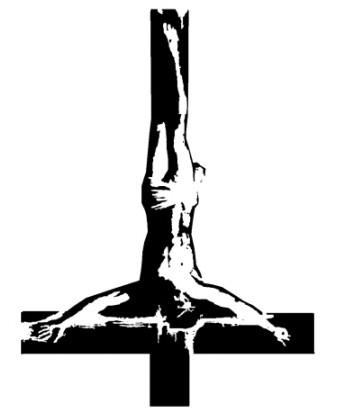 simbol obrnutog križa