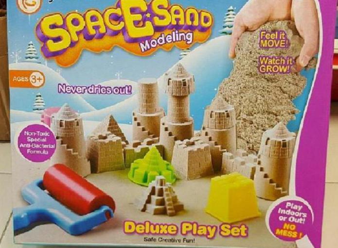 recensioni di sabbia spaziale
