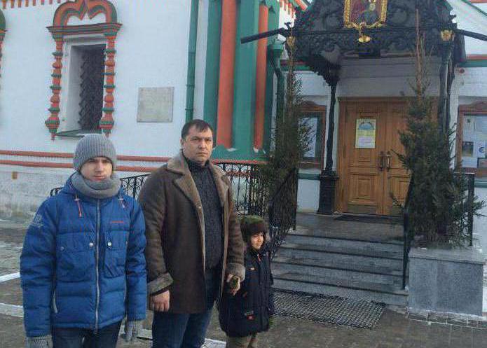 Валери Болотов, фотографија са супругом