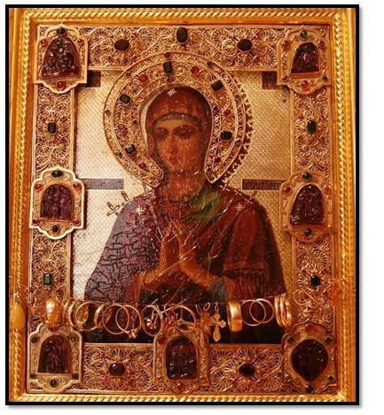 Icona miracolosa ammorbidisce i cuori malvagi