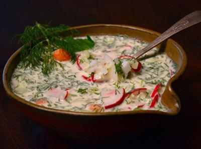 come cucinare deliziosi okroshka