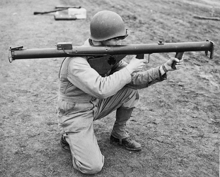 изстрел с оръжие базука