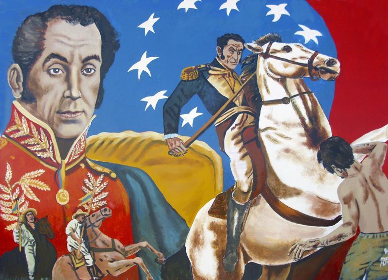 Bolivar è raffigurato sulle monete