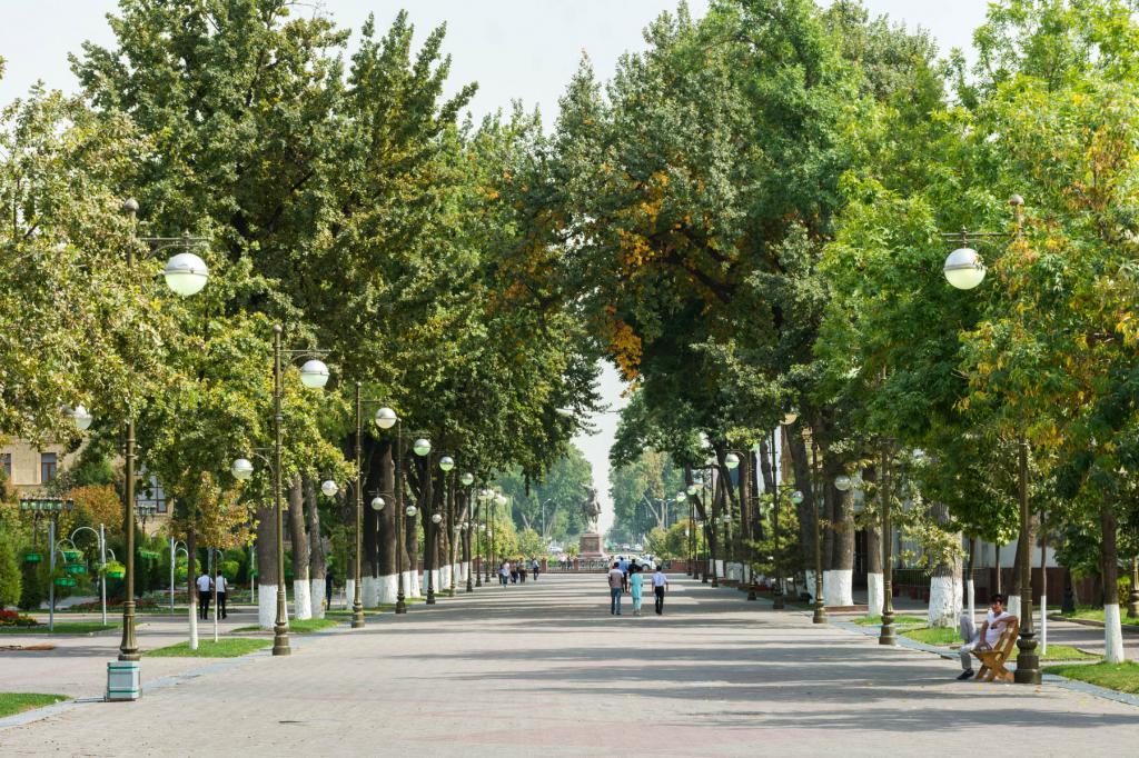 Bulevar u središtu Taškenta