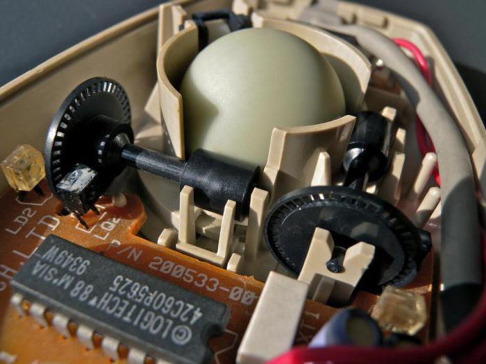 drátová počítačová myš