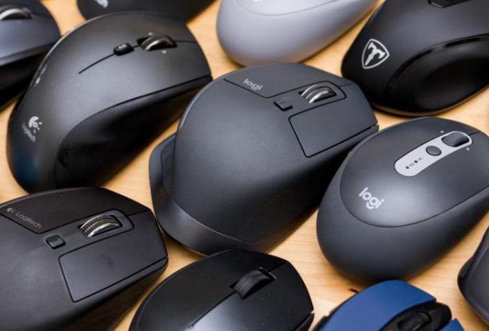 horní počítačové myši