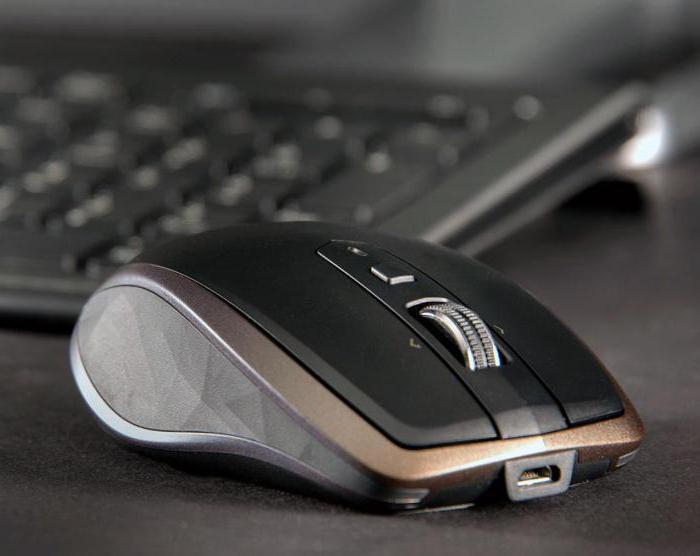 bezdrátová počítačová myš