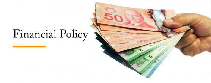 financijska politika poduzeća i njezino značenje