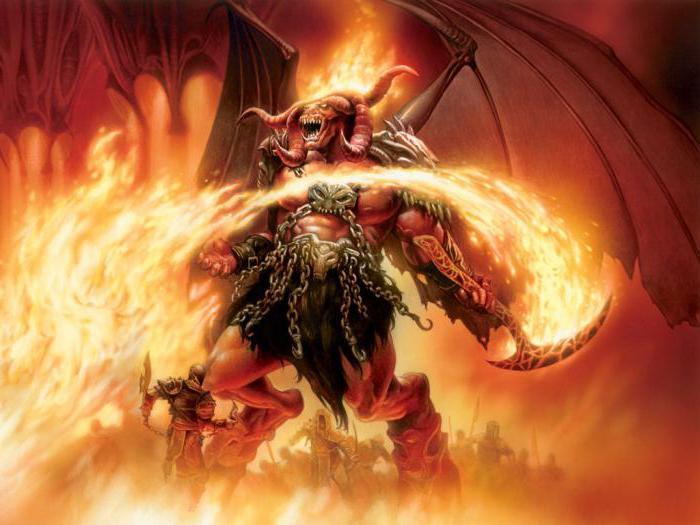 demoni della gerarchia