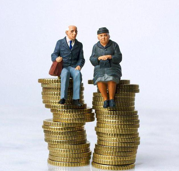 parte finanziata della pensione