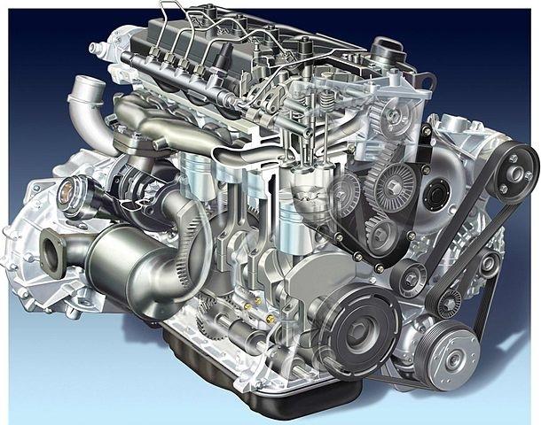 avtomobilski motor