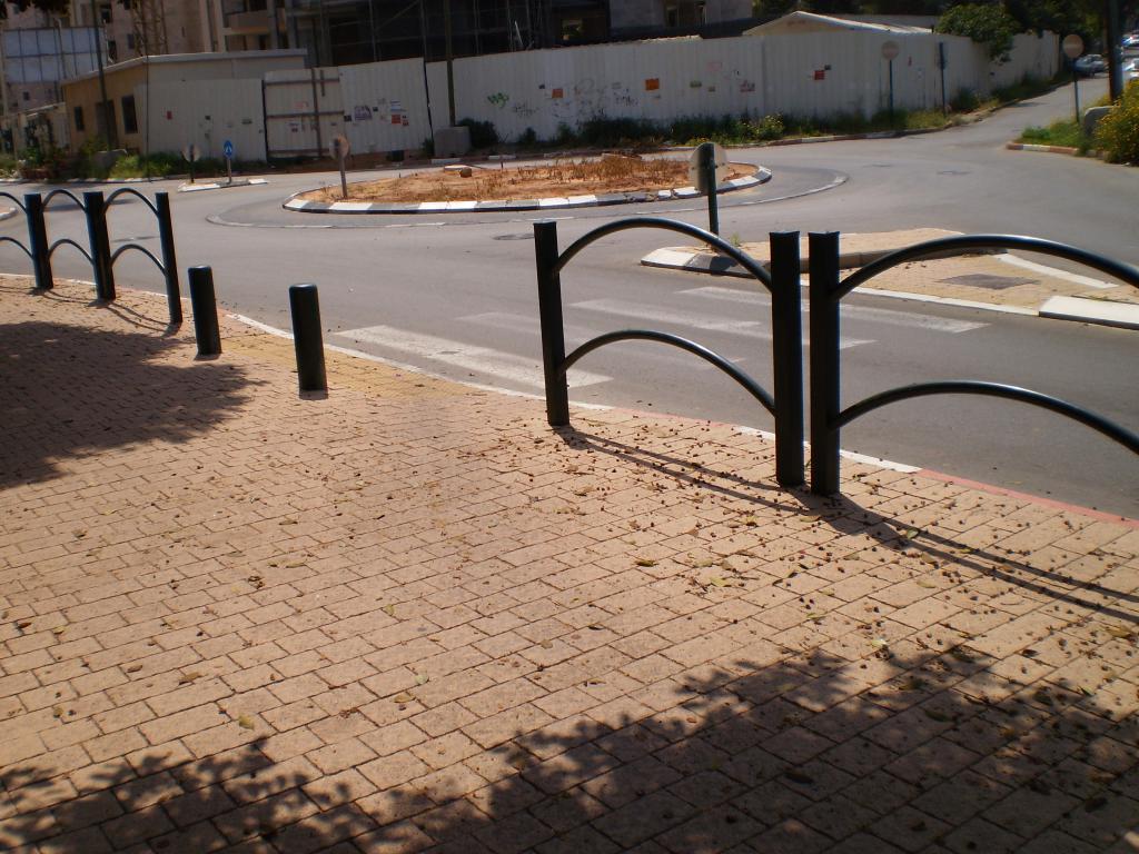 Ogrodzenie chodnikowe