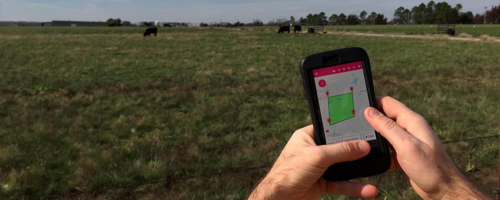 Mjerenje površine zemljišta pomoću telefona