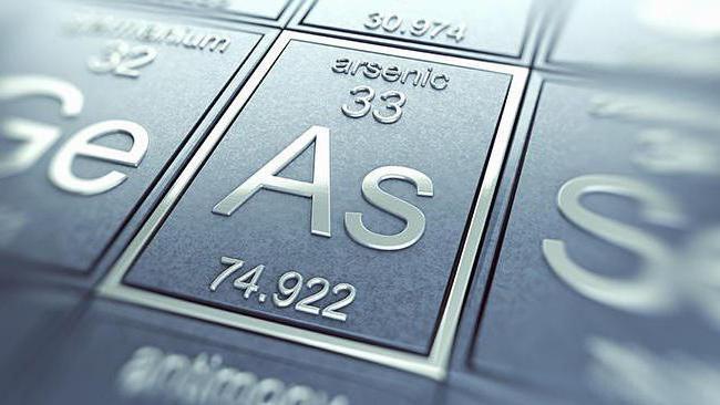 Získání kovového arzénu