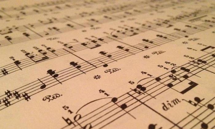 cosa è cantata nella musica