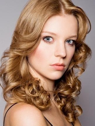 barvna fotografija za lase iz karamele