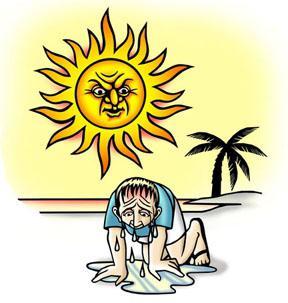 симптоми сунчанице