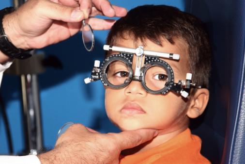 foto dell'astigmatismo dell'occhio