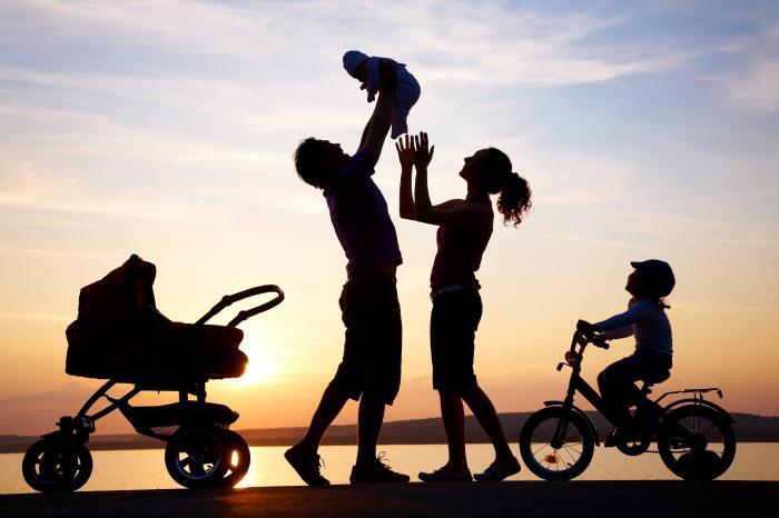 giovane concetto di famiglia