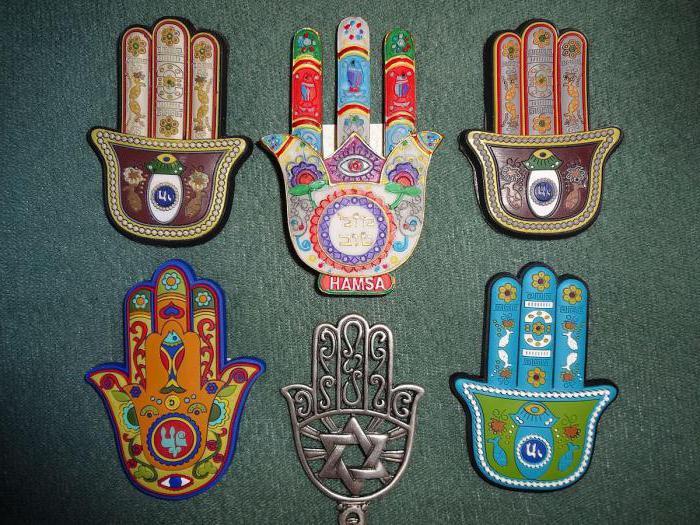 amuleto protettivo di palma