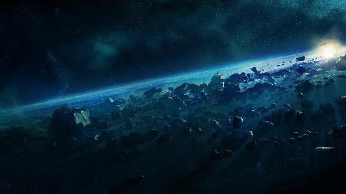 i più grandi asteroidi e il loro movimento brevemente