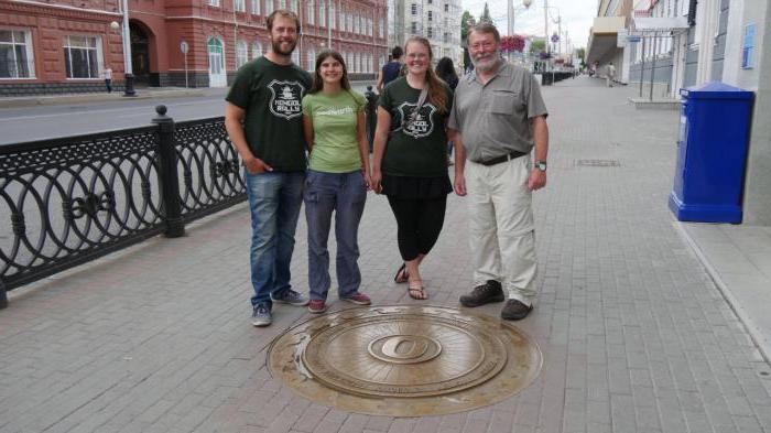 Symbolická geodetická značka v Ufa