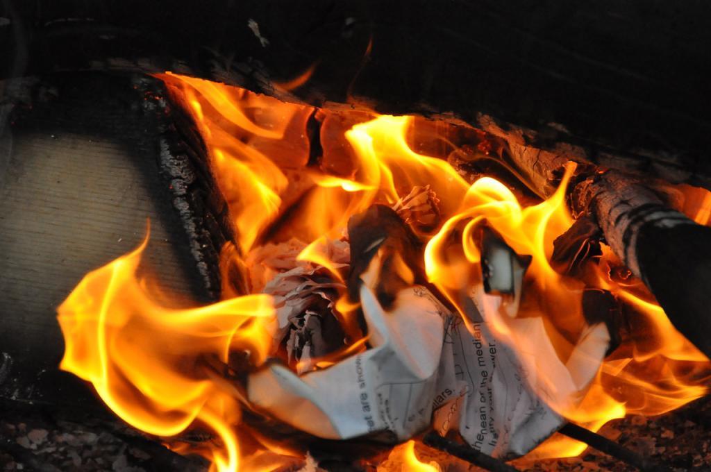гореща хартия